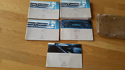 Mercedes Sprinter Owners Handbook/Manual and Wallet & SERVICE BOOK