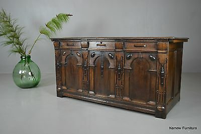 Antique 17th Century Style Oak Coffer
