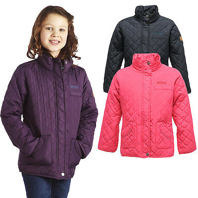 Regatta Phoebus Girls Water-Repellent Quilted Padded Jacket