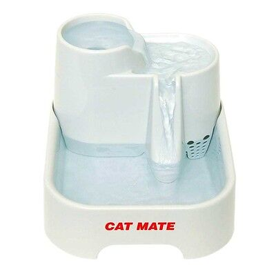 Cat Mate Fresh Water Drinking Fountain for Cats and Small Dogs • EUR 36,71