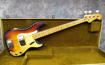 1959 Fender Precision Bass  - Sunburst - Andy Baxter Bass & Guitars Ltd