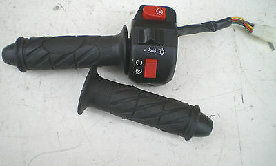 2015 DIRECT BIKES  VIPER 125cc SCOOTER THROTTLE SWITCH GEAR & HANDLE BAR GRIPS