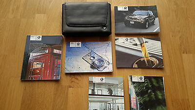 Bmw X5 Series E53 Facelift Handbook Owners Manual Wallet&service Book 2003–2006