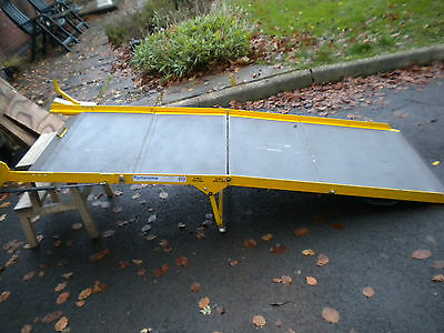 1320  Portaramp Disabled / Wheelchair Scooter ramp Used 300 Kgs