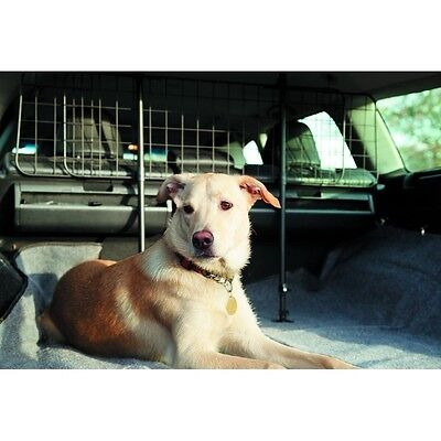 Wire mesh upright car boot dog guard pet barrier suitable for Peugeot 107