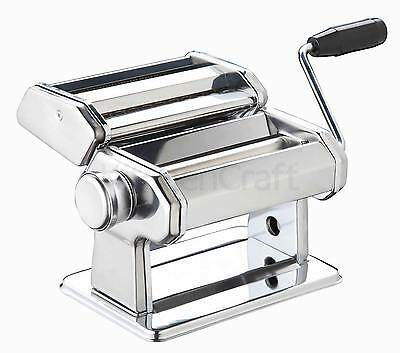 Double Deluxe Italian Hand Operated Homemade Pasta Maker / Machine / Cutter