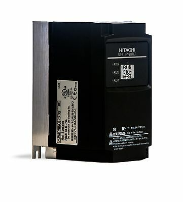 NEW Hitachi NES1-007SB Variable Frequency Drive VFD Inverter, 1HP 4A 1Phase 200V