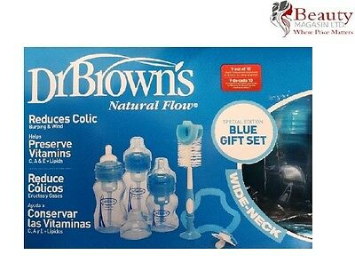 Dr Brown's Bottle Blue Gift Set