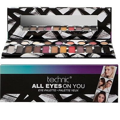 Colours Eyeshadow Eye Shadow Palette Makeup Kit Set Complete Make Up Girls Gift