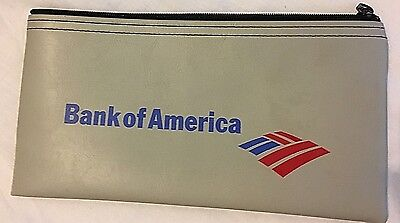 Vintage New Old Stock BANK OF AMERICA Money Note Bag Pouch