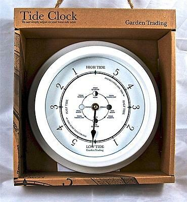 Tide Clock. Chalk. By Garden Trading
