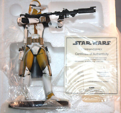 NEW- Star Wars Elite Collection Statue: Commander Bly 1066/1500 *Free Shipping*