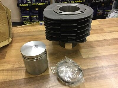 Piaggio Ape Cylinder Barrel And Piston Kit, Standard