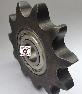 """G&G Manufacturing  Idler Sprocket, 100 Chain 10 Tooth, 1"""" Bore"""