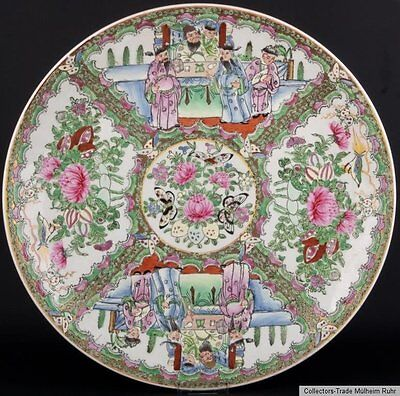 China 20. Jh. Teller - A Chinese Famille Rose Porcelain Dish - Chinois Cinese