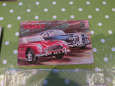 DINKY CATALOGUE 1st EDITION, DIE-CAST SCALE MODELS