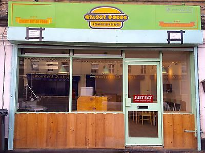 Takeaway To Let /Business For Sale Busy Area Of Huddersfield