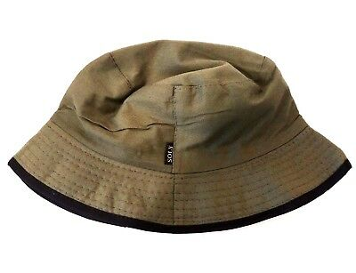 IDF Israel Army Boonie Bucket Hat Military Olive Green Khaki 100% Thick Cotton