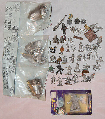 Large Collection of Warhammer Style & Ral Partha / Irregular Minatures Joust Set