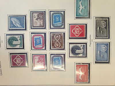 UNO United Nations virtually complete collection mint/used  1951 - 1987 amazing