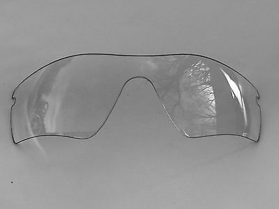 New Replacement Clear Transparent Oakley Radar Path Lens & Pouch