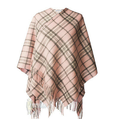 Edinburgh - Soft & Warm Lambswool Mini Or Girls Cape - Thomson Pale Pink