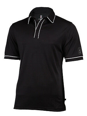PGA Tour Legend Golf Shirt, Black