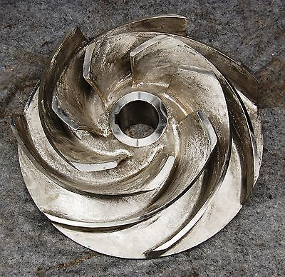 "NEW Goulds 8 418 8769 M Pump Impeller 20"" Diameter 316 Stainless Steel SS NEW"