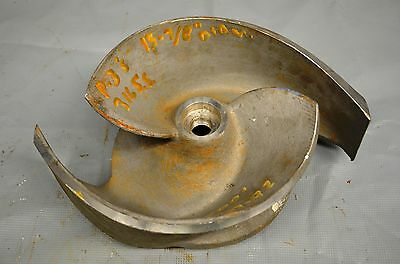 "Goulds 3175 Pump Impeller 2 Vane 14"" Dia. 316 Stainless Steel SS CF8M 56185 7393"