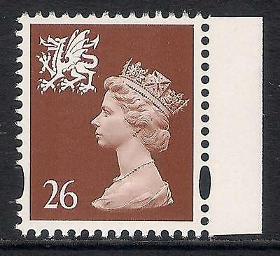 Wales 1998 W80a 26p photo. 2 bands perf. 14 booklet stamp MNH