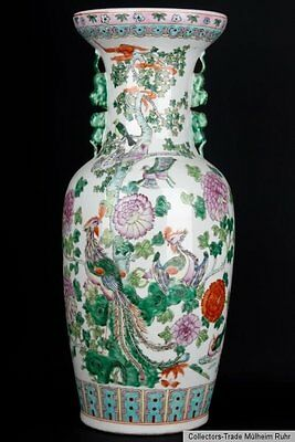 China 20. Jh. Große Bodenvase - A Large Chinese Baluster Vase - Cinese Chinois
