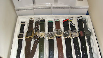 TRADE ONLY JOB LOT OF 10 X  NEW  BENCH WATCHES 100% GEN ..+ boxeds.