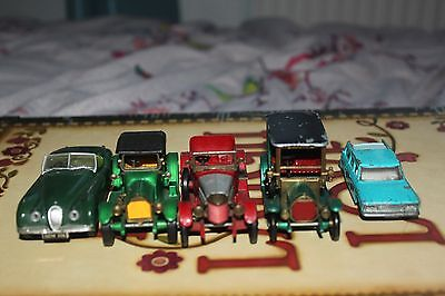 Joblot of Rare Model Cars! Includes Matcbox and Corgi Cars! Highly Collectable!