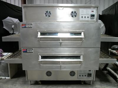 Middleby Marshall PS360WB70 double gas conveyor pizza ovens RECONDITIONED