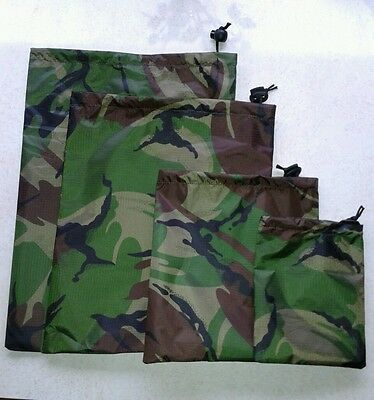 Drawstring, Geocache Drawstring Bag, Camo Bag, Waterproof Fabric, Free P&p,