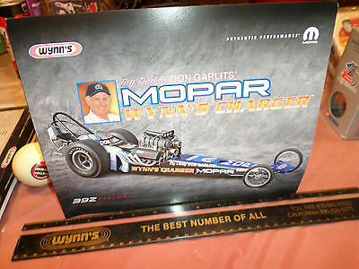 Don Garlits Dragster Wynn Oil Company - Original Print Mopar 2 cards  !