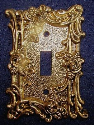 3 Brass American Tack And Hardware 1967 Switch Plate Covers 2 Sgl 1 Is Double