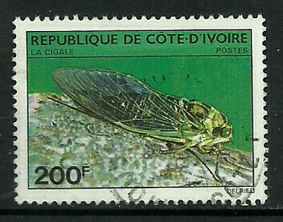 Ivory Coast #566 Used Stamp - Insect - Bug (a)
