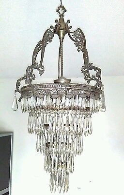 Vintage Crystal Chandelier Layer Cake