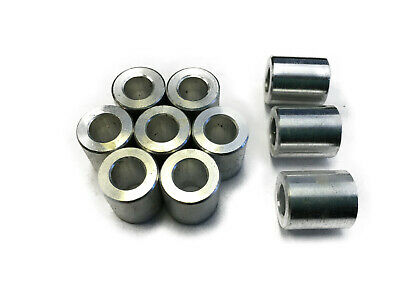 Aluminum Spacers for Motorcycles Scooters General Hardware (10 pieces)