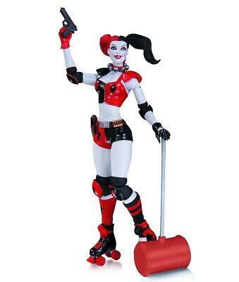 DC Direct DC Comics Super Villains - The New 52 Harley Quinn Actionfigur