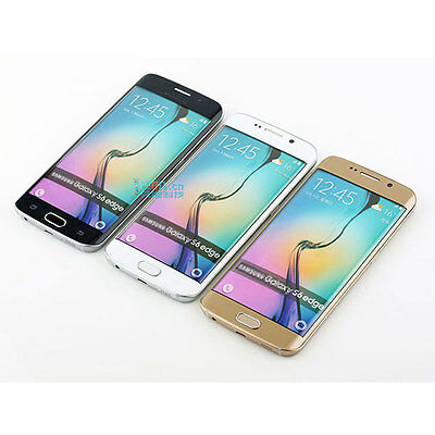 Gold Non Working 1:1 Display Dummy Toy Phone Model For Samsung Galaxy S6 edge