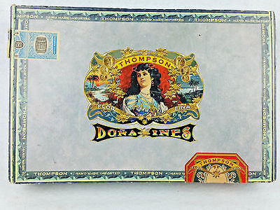 Thompson Dona Ines Cigar Box