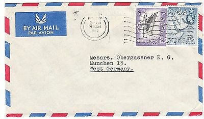 ADEN cover postmarked Aden, 14 March 1962 - airmail to Germany