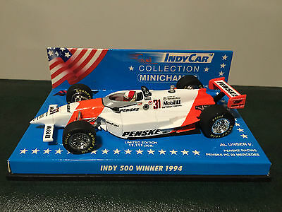 Indycar Diecast Models x3, 1990'2, 1:43 Scale