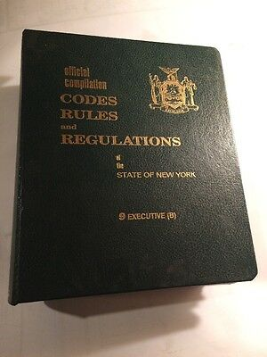 new york state code rules and regulations