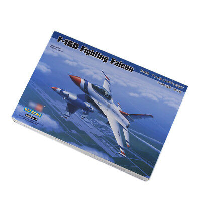 Assemble Model 1/72 Scale New F-16D Fighting Falcon Air Fighter Aircraft Plane