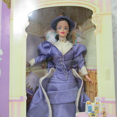 Avon PFE Albee Barbie Doll First in Series & 1996 Decoupage