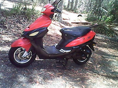 Baotian 50Cc Scooter With Rwc