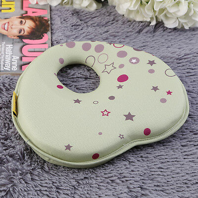 Newborn Baby Infant Anti-roll Support Positioner Head Soft Sleeping Pillow E5